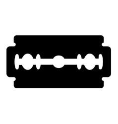 Blade razor black color icon vector