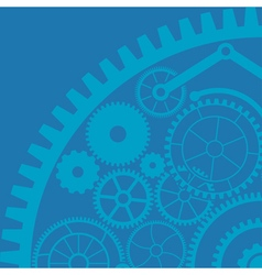 gear background first variant vector image vector image
