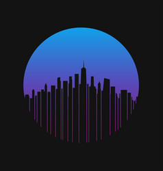 New york city t-shirt and apparel design vector