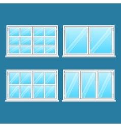 High quality aluminium windows stainless steel vector