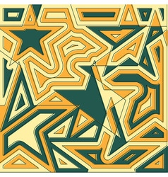 Abstract star background original decoration vector