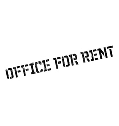 Office for rent rubber stamp vector