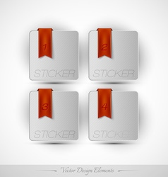 Business stickers on the white background for vector