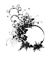 decorative design vector image