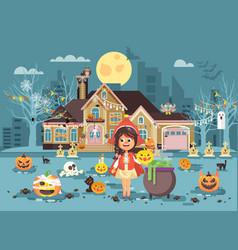 banner brochure cartoon vector image