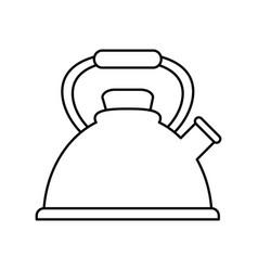 Coffe maker icon vector