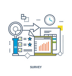 Concept of survey vector