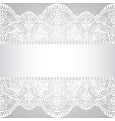 Lace background vector
