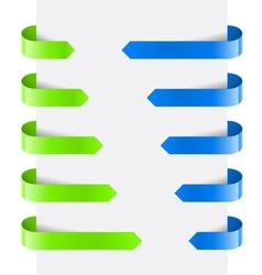 Web Arrows vector image vector image