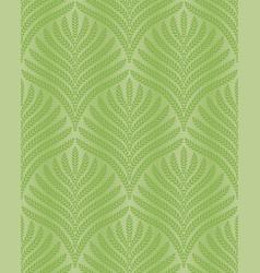 greenery palm foliage seamless pattern vector image