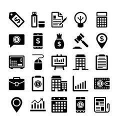 Banking and finance line icons 12 vector