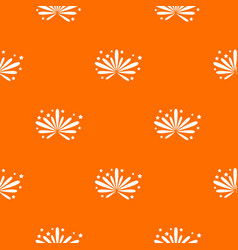 fireworks pattern seamless vector image vector image