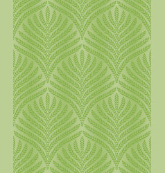 greenery palm foliage seamless pattern vector image vector image