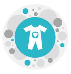 Of family symbol on bodysuit vector