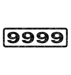 9999 watermark stamp vector
