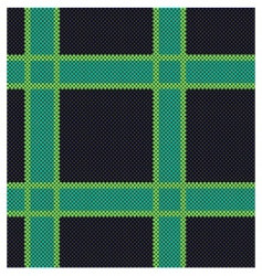simple plaid texture vector image