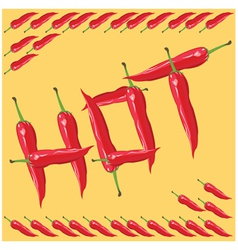 Chili Pepper - vector image