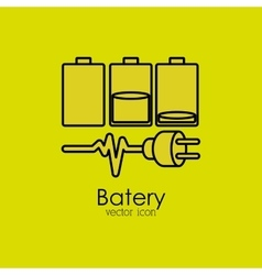 Battery isolated icon design vector
