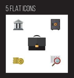 Flat gain set of strongbox cash portfolio and vector