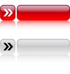 Forward arrow square button vector