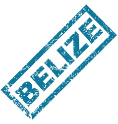 Belize rubber stamp vector