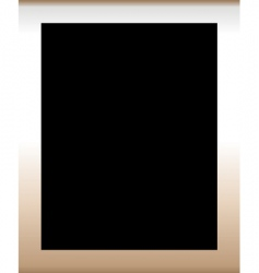 Frame with black background vector