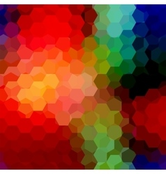 Abstract background consisting of hexagons vector image vector image