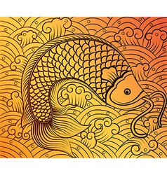 Chinese fish2 vector