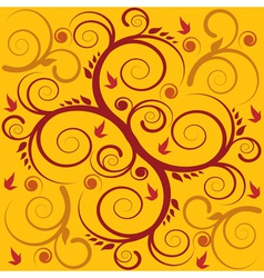 seamless swirl background vector image