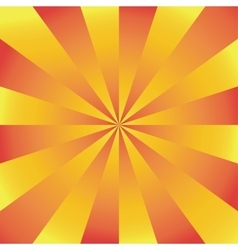 Sunburst background vector image