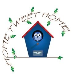 Home tweet home vector