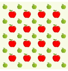 apple background - pattern vector image vector image