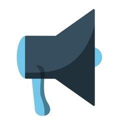 megaphone loudspeaker icon image vector image vector image