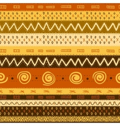 Ethnic african seamless background vector