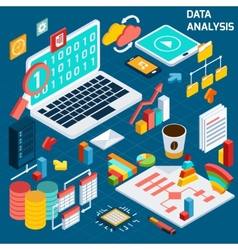 Data analysis isometric vector