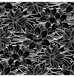 Graphic vanilla pattern vector image