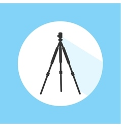 Camera tripod digital technology equipment pro vector