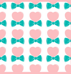 fashion hipster cute seamless pattern with pink vector image vector image