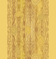 Light wooden texture with knot structure vector