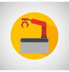 Robot technolgy machine vector