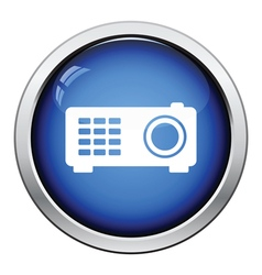 Video projector icon vector image