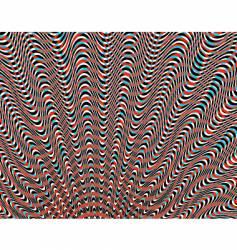 wavy vector image vector image
