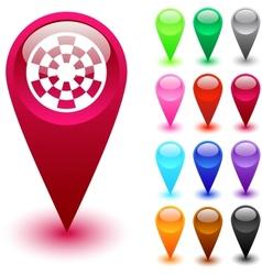 Target button vector