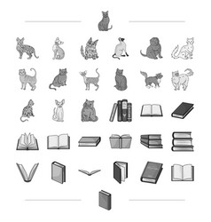 archive science business and other web icon in vector image