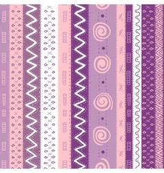 Ethnic African Seamless Background vector image vector image