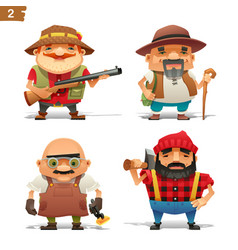 farm professions set-2 vector image