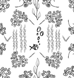 Seamless pattern 01 vector image vector image