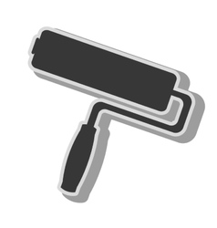 Paint tool equipment icon vector