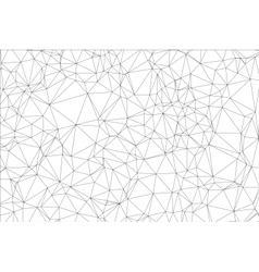 Background black and white polygon vector