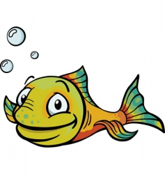 Cartoony fish vector